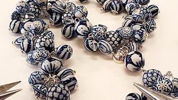 Handgemaakte sieraden uit eigen atelier